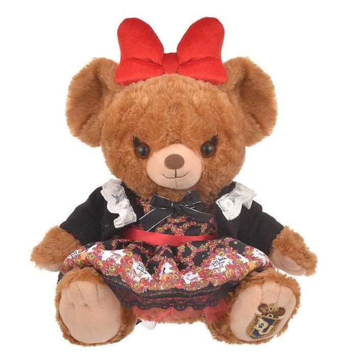 代購現貨  日本東京迪士尼【BABY THE STARS SHINE BRIGHT】大熊城毛絨玩具白雪姬服裝(不含玩偶)