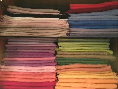 夢夢園SUPERFINE^^特級輕暖特訂款SHAMINA STOLE高級素色羊毛加大披肩200x100CM*粉紅色