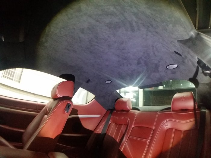 神工-Maserati車頂澎翻新-ALCANTARA麂皮GranTurismo.Ghibli.MC