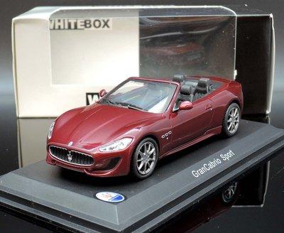 【MASH】[現貨瘋狂價] Whitebox 1/43 Maserati Gran Convertible Sport