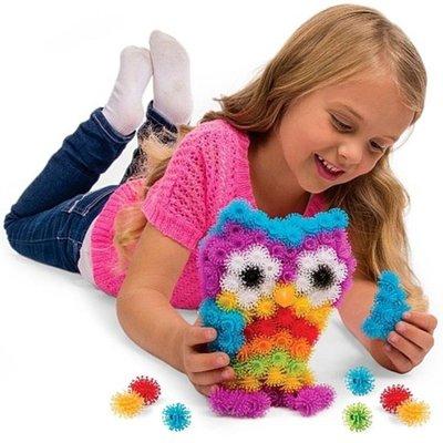 玩具百變積木二代雙鉤兒童禮物益智黏黏球 YX1056
