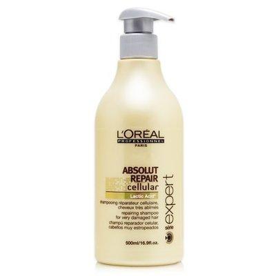 夏日小舖【洗髮精】LOREAL 萊雅 極致細胞賦活洗髮乳500ml 保證公司貨 (可超取)