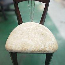 【宏品二手家具館】中古家具 家電 F92504*胡桃化妝椅* 洽談椅 書桌椅 二手餐桌 營業器材 沙發組 出清特賣