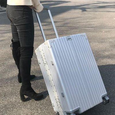26吋經典鋁框款 復古直角鋁框拉桿箱 結婚箱 行李箱 旅行箱