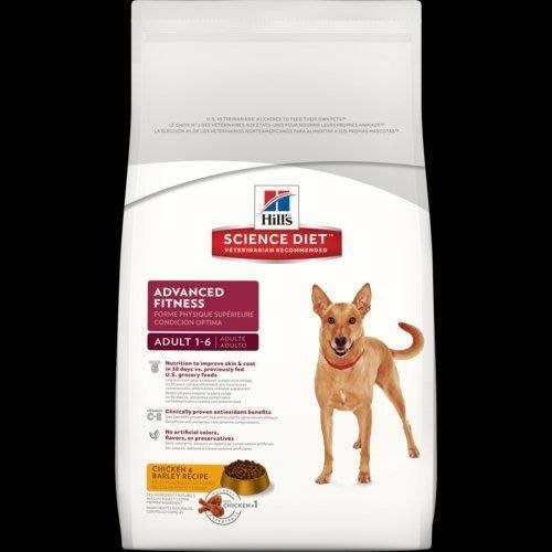 希爾思 希爾斯 Hills 狗 4公斤 優質健康 生命階段 成犬 1-6歲 雞肉與大麥 一般飼料 犬用乾糧 狗飼料 [10314HG] 可刷卡