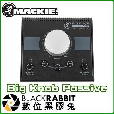 數位黑膠兔【 Mackie Big Knob Passive 2x2 被動 監聽控制器 】無需電源 公司貨 類比輸入