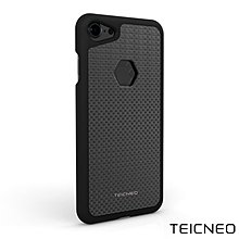 (iPhone 7魔力黑)TeicNeo 航太鋁合金手機保護殼 - 紳士【小潔大批發】