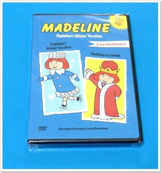 *【英語兒童教育DVD】小pen*Madeline 調皮的碼德琳~~ Madeline's Winter Vacation