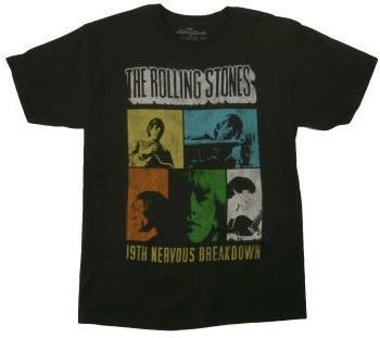 Rolling Stones 19th Nervous Breakdown T-Shirt 美國進口T恤 現貨+預購