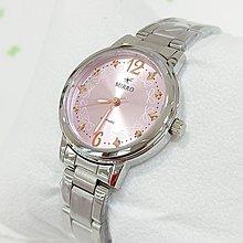 MIRRO時尚精緻不銹鋼手錶/藍寶石鏡面蝴蝶結粉紅面盤/特價
