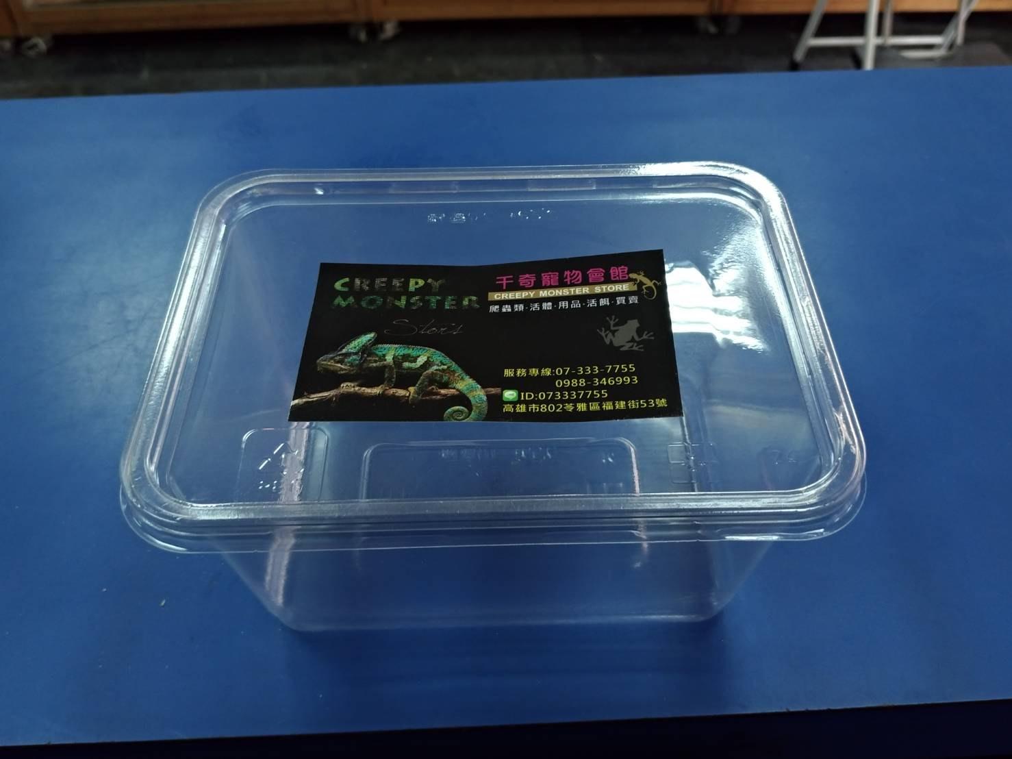 ☆千奇爬蟲☆ 簡易飼養盒