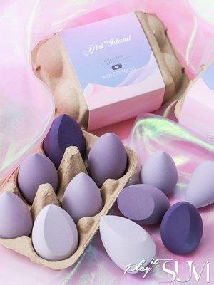 GOTSHOP 美妝蛋 干濕兩用化妝海綿粉撲彩妝蛋不吃粉GO618