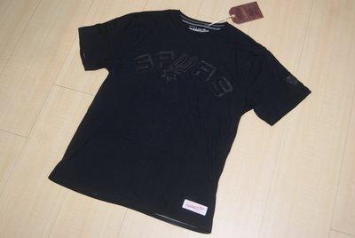 Mitchell & Ness M&N NBA San Antonio Spurs聖安東尼奧馬刺隊復刻版短袖T恤鄧肯石佛