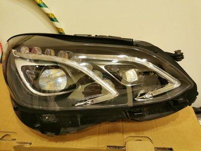 w212 賓士大燈  E系列小改款 賓士原廠高階Led大燈一個極新 如照