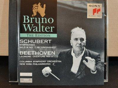 Walter,Schubert-Sym No.5 & 7 (8)Unfinished,華爾特指揮演繹-舒伯特第五&八號未完成交響曲,貝多芬-雷奧諾拉序曲