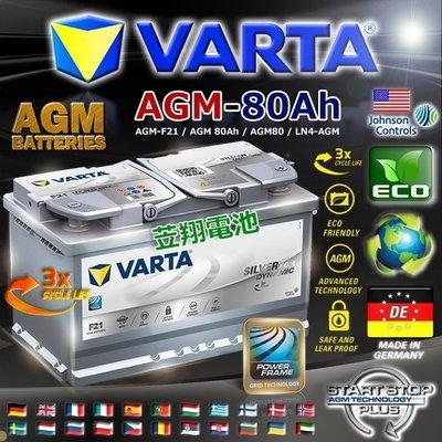 ~電池 ~德國 電池 VARTA 華達 AGM 電瓶 舊換新 賣場 工資另計 F21 V40 V60 C300