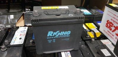 (二手中古電池) RISING POWER電池(雷神) 55D23L-SMF 免保養汽車電池 數值漂亮,品項優