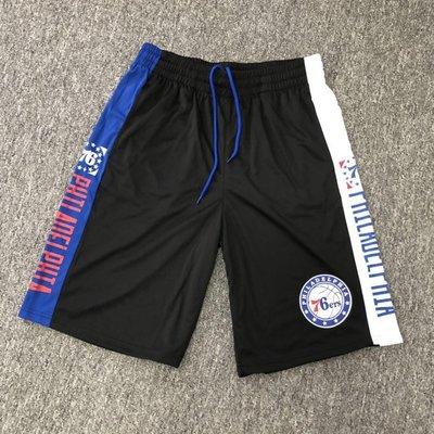 NBA籃球短褲 費城76人隊 ALLEN IVERSON   口袋版 運動籃球褲 正版