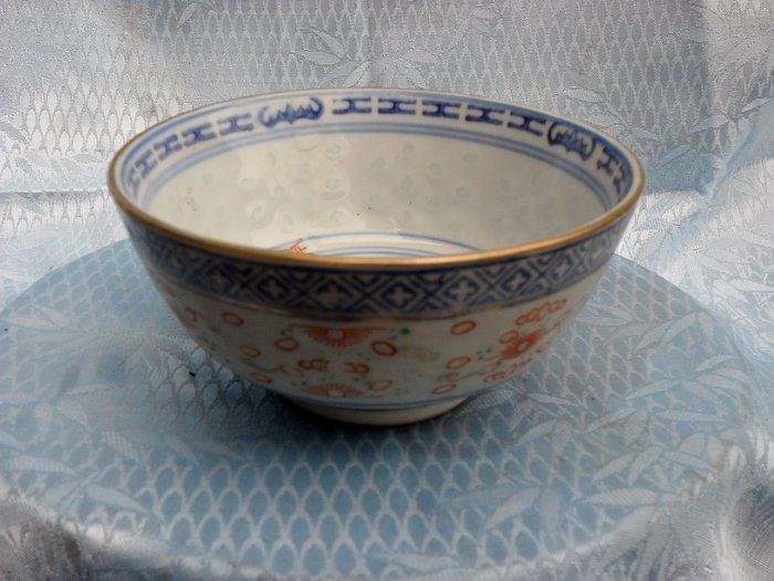 紫色小館4-----米孔碗(高6.5公分.直徑11公分)
