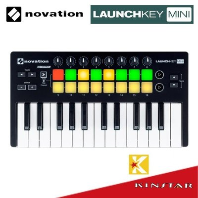 【金聲樂器】Novation Launchkey Mini MKII MIDI 鍵盤 25 鍵 MIDI 鍵盤 MK2