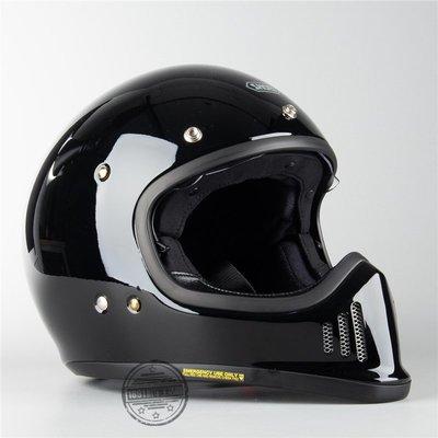 Sarah~日本 SHOEI EX-ZERO 復古哈雷拿鐵自由攀爬摩托機車全盔頭盔 現貨