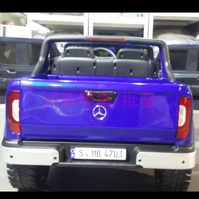 【宗剛零售/批發】 賓士 X-class(二驅/四驅可切換)Mercedes-Benz皮卡 貨卡 12v加大電池 前後搖