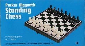 奇趣天地 迷你 國際象棋 standing chess 磁石棋盤 磁棋 可折疊 攜帶方便 居家旅行 有優惠活動