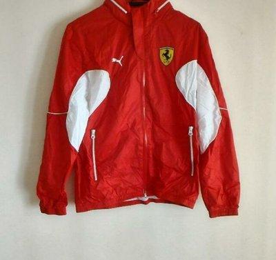 Ferrari X Puma Windbreaker Jacket 紅色風褸