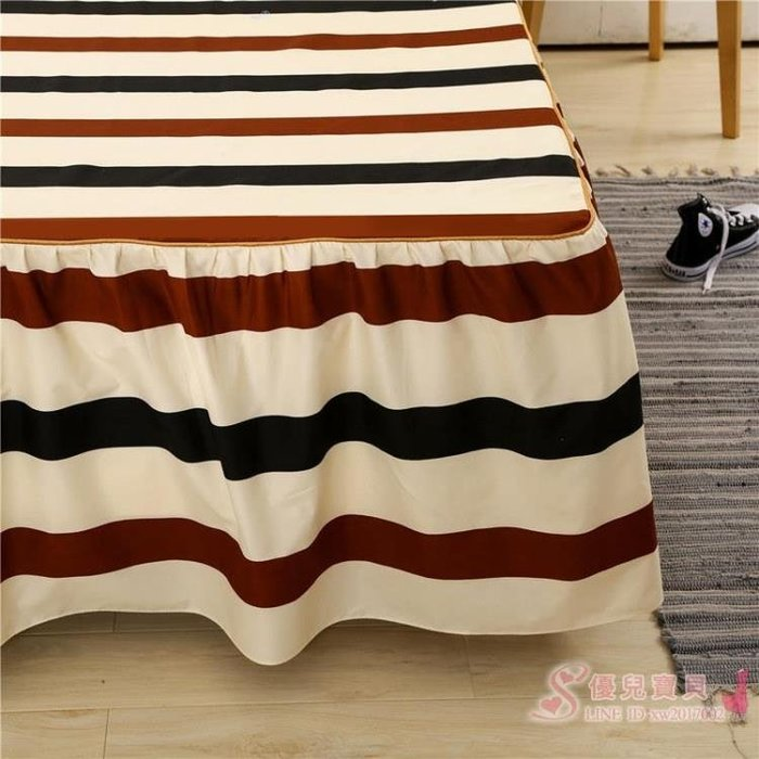 床裙席夢思韓式床罩 床套 床蓋床單單件床笠 【全館免運】