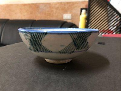 早期 藍邊福碗