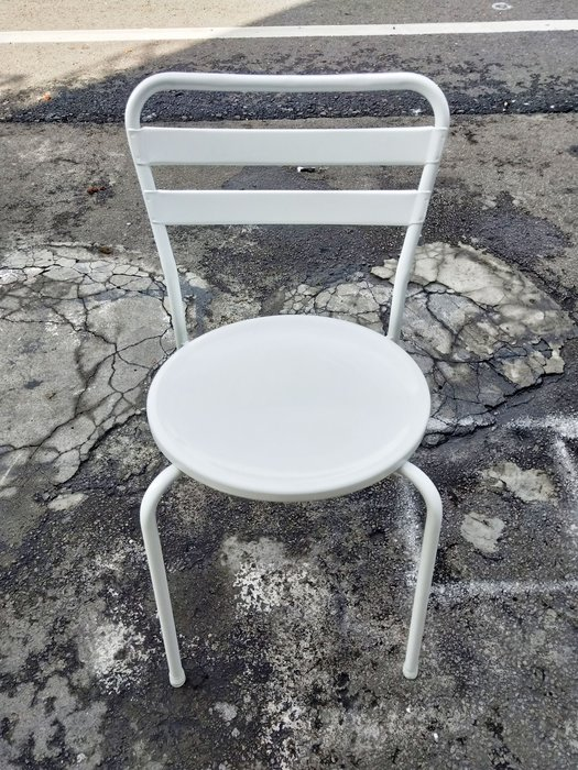 非凡二手家具 白色 冰淇淋椅*洽談椅*麻將椅*辦公椅*接待椅*電腦椅*化妝椅*房間椅*沙發椅*咖啡椅*木椅