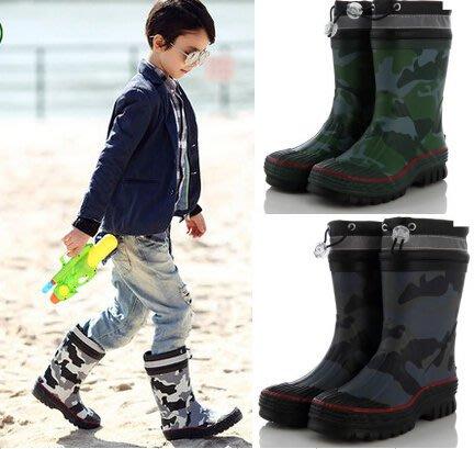 B&L品牌兒童雨鞋 大童經典時尚橡膠中筒 寶寶防滑防水小孩水鞋