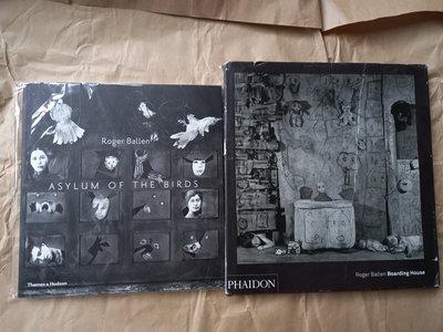 攝影/(絕版)Roger Ballen-Boarding House+Asylum Of The Birds(2本合售)