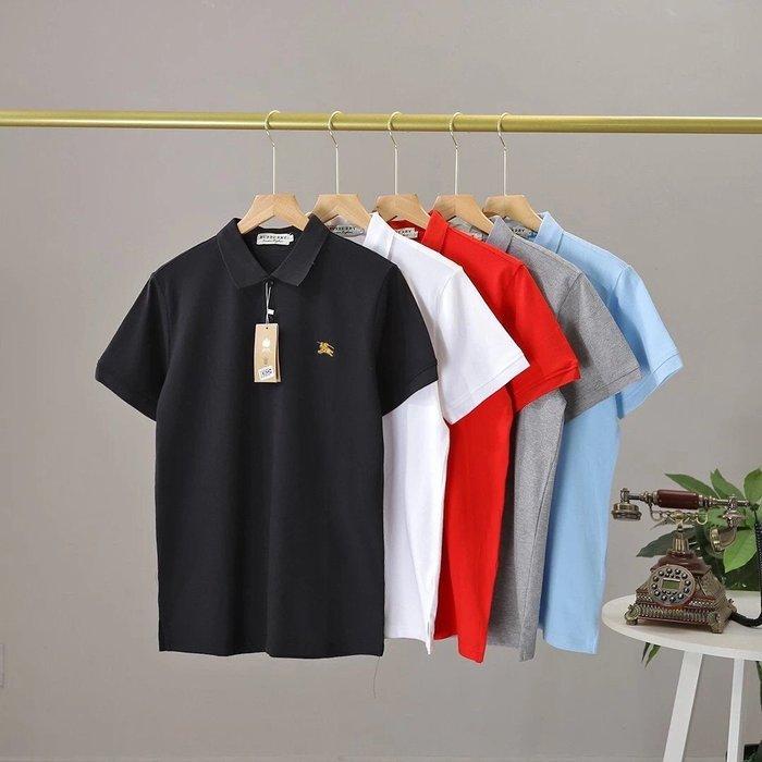 Chris精品代購 美國Outlet Burberry巴寶莉 春夏新款 POLO衫 透氣舒適 胸前戰馬Logo 五色任選