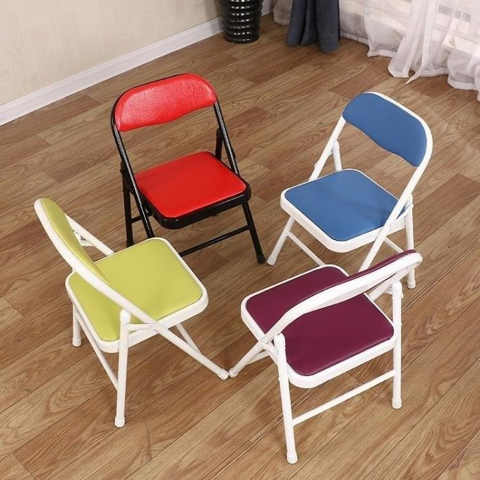BELOCO 折疊椅兒童椅子小學生家用學習靠背椅書桌寶BE655