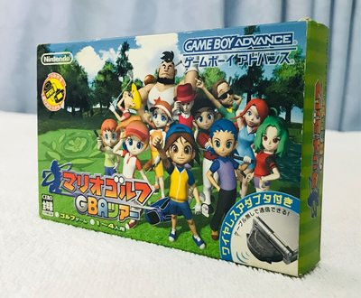 (全新new) Mario Golf Game boy advance GBA 連對戰接駁器