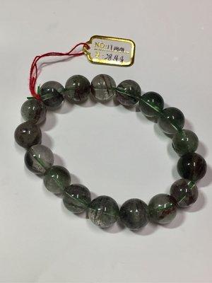 綠幽靈 天然水晶 手珠 手鍊 財富 能量 出清價 划算 飾品