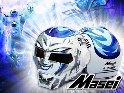 現貨龍珠佛利沙FREEZER造型Masei M-610 DOT&ECE安全認證摩托車安全帽