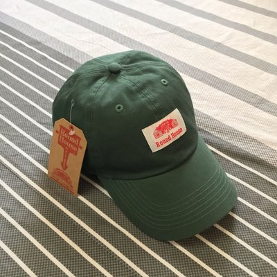 Round House Washed Twill Cap D.Green 老帽 棒球帽