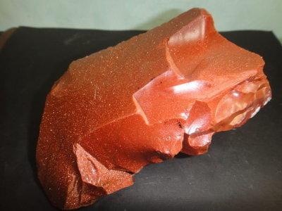 【競標網】高檔天然漂亮金砂石原礦993克(網路特價品、原價900元)限量一件