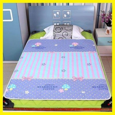 日和生活館 兒童純棉隔尿墊大號防水加厚可洗尿不濕床墊經期老人墊嬰兒防漏 S686