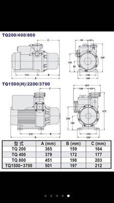 大井泵浦TQ2200電子式穩壓加壓機,加壓機,2HP加壓馬達 ,抽水機,大井馬達,抽水馬達,大井加壓馬達桃園經銷商。