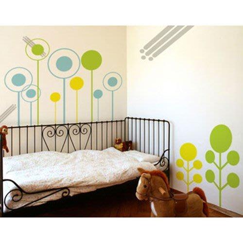 小妮子的家@圓樹壁貼/牆貼/玻璃貼/ 磁磚貼/汽車貼/家具貼/冰箱貼