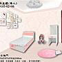 【正陞/南亞塑鋼家具】單人塑鋼床底櫃(GD105-02+06-30H)左後抽+右推門_收納空間大/防水防霉防蟲/床架床組