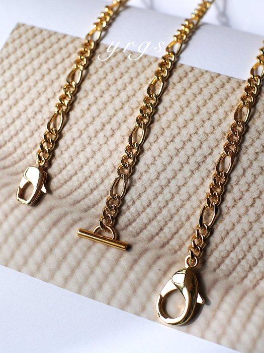 淘淘樂-【一人故事】女包配件設計師銅鏈條改造包包斜挎包細鏈子OT扣肩帶