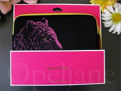 Juicy Couture Leopard Case粉紅豹手拿包萬用袋可放MINI IPAD 免運 愛Coach包包