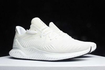 D-BOX  Adidas Alpha Bounce AlphaBounce 3代 慢跑鞋 白色 男女鞋