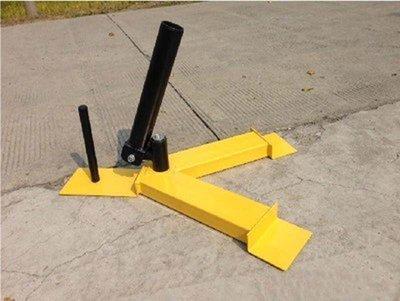 【奇滿來】單筒地雷 黃色訓練底座 炮台架 Landmine  健身 核心訓練 重量訓練 二頭肌力爆發 AANO