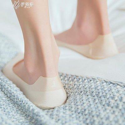 【蘑菇小隊】低幫隱形襪女士船襪女薄款夏季淺口短襪底純棉不掉跟硅膠防滑襪子-MG32716
