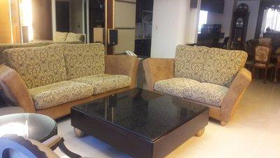 歐式古典二手沙發三人座